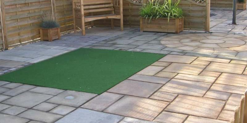 Patio laying in Halesworth